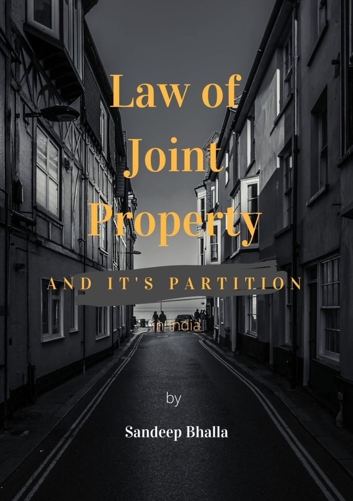 Law of Joint Property and it's Partition